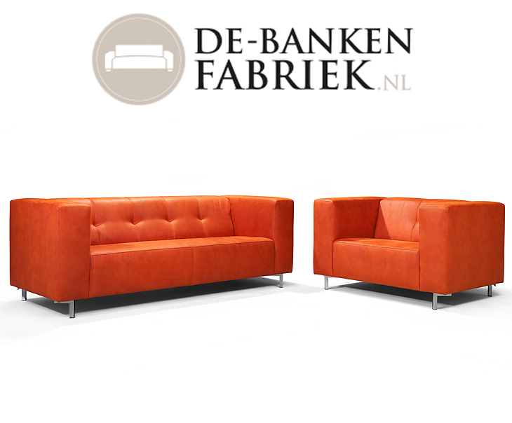 Moderne Leren Design Bank.Moderne Leren Banken De Bankenfabriek