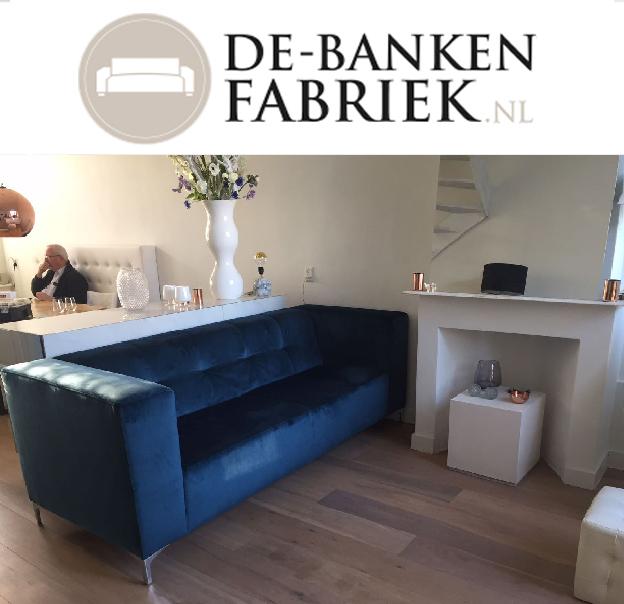 Blauwe bank Amsterdam