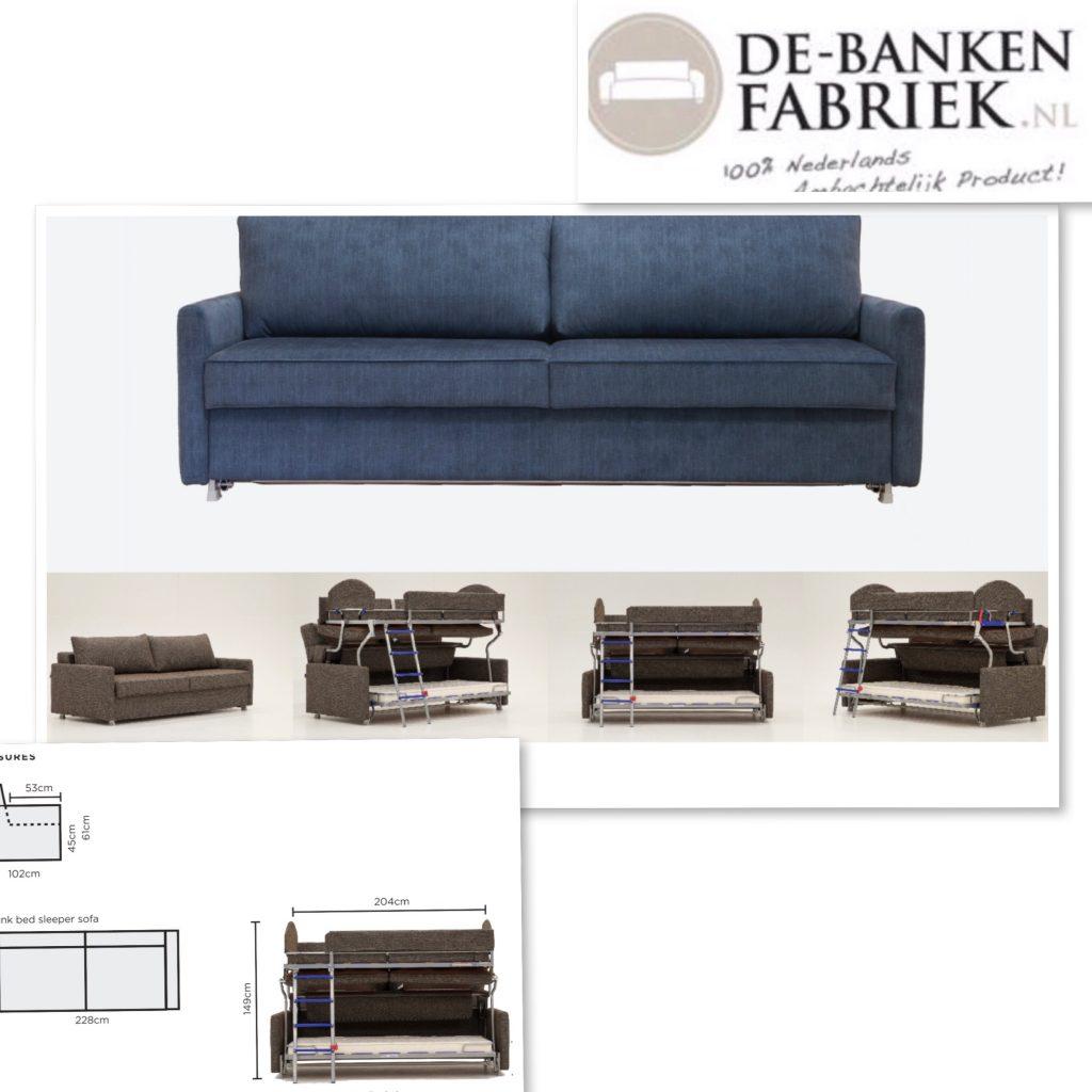 Stapel bedbank Amsterdam