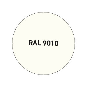 Wit RAL 9010