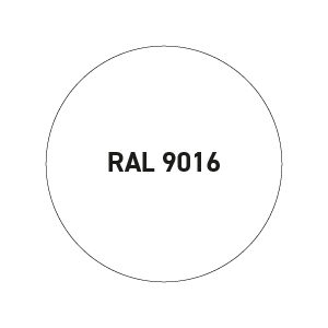 Wit RAL 9016